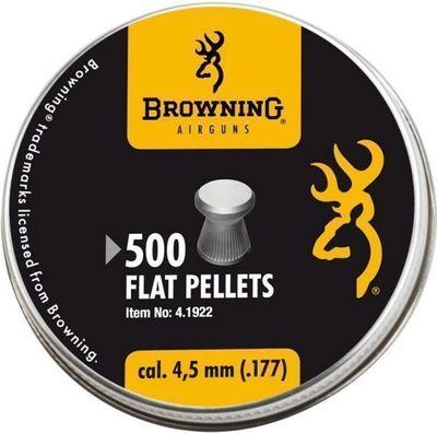 Browning Diabolo plattnos 4,5mm 500st