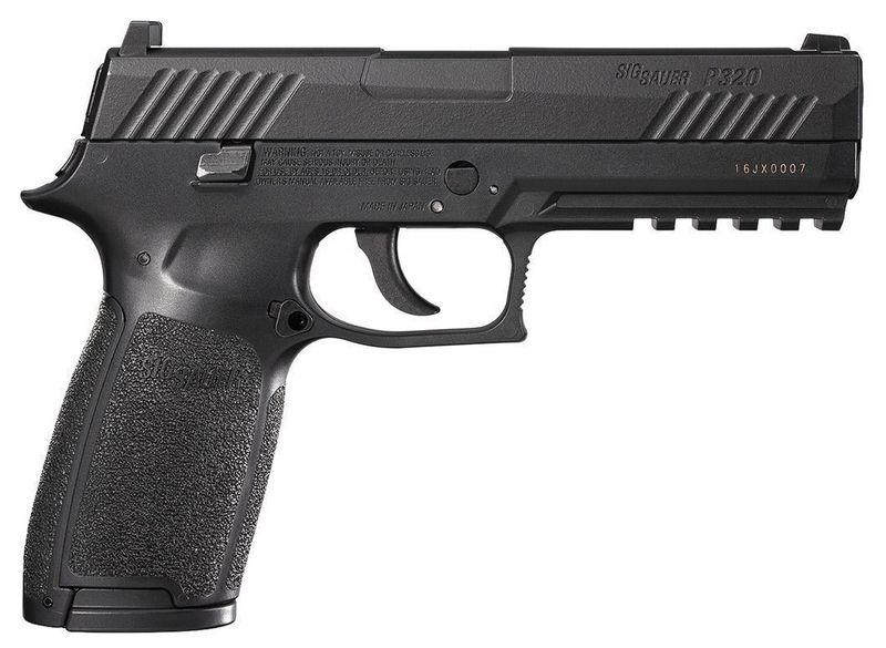 Sig Sauer P320 ASP 4,5mm, Black