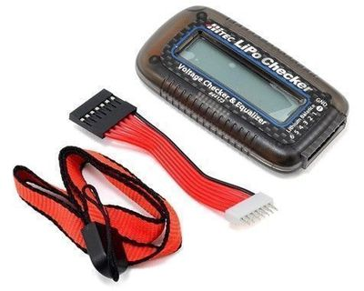 Voltage Checker & Equalizer for LiPO Batteries