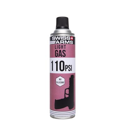 Swiss Arms 110PSI Light Gas No Silicone 600ml