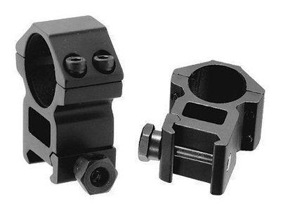 Kikarsiktesfäste - 30mm Hög Weaver