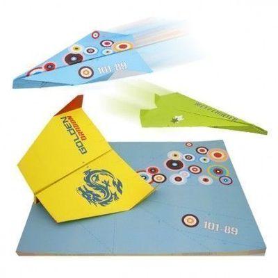 Pappersflygplan Bordstabletter 50-pack