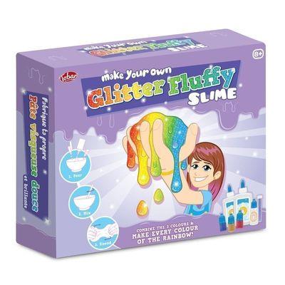 Gör Ditt Eget Fluffiga Slime Kit