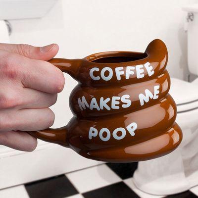 Coffee Makes Me Poop Mugg