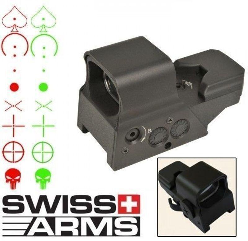 Swiss Arms Uppladdningsbart Rödpunktsikte