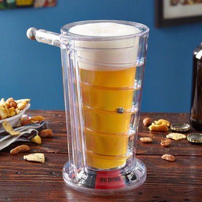 Pinball Ölglas