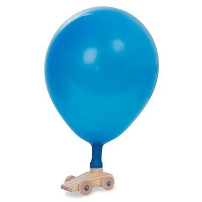 Ballongbil i Trä