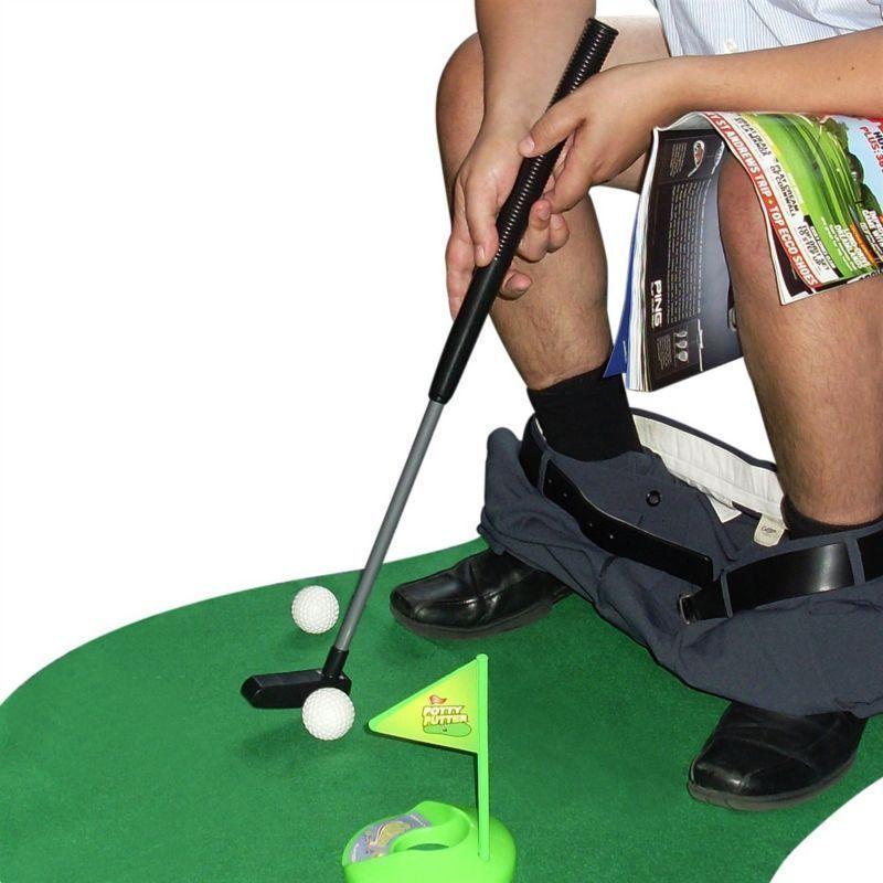 Toilet Golf