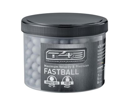 T4E Fastball, .43 Gummikulor, Anthracite 430st