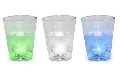 Flashing Shot Glasses - 3 Pack