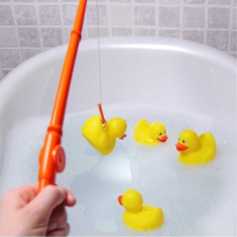 Hook a Duck Bath Game