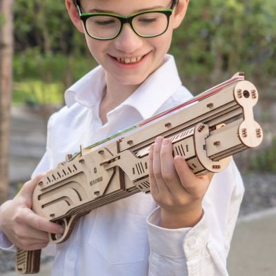 Mr. PlayWood Shotgun - Wooden Model Kit