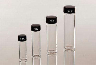 Glasflaska 72 x 20 mm