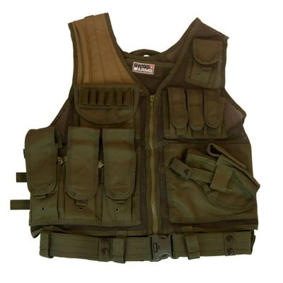 Swiss Arms Tactical Vest OD Green