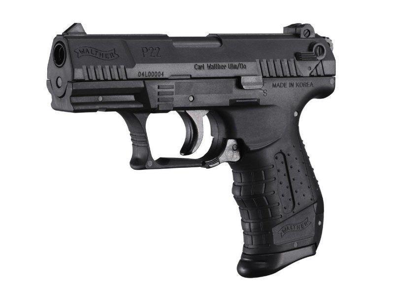Walther P22, fjäderdriven pistol