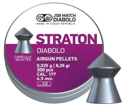 JSB Straton, 4,5mm - 0,535g