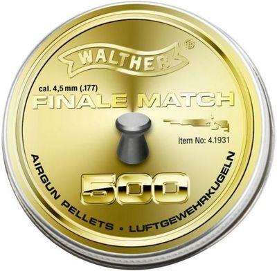 Walther Final Match 4,5mm, 500st för gevär