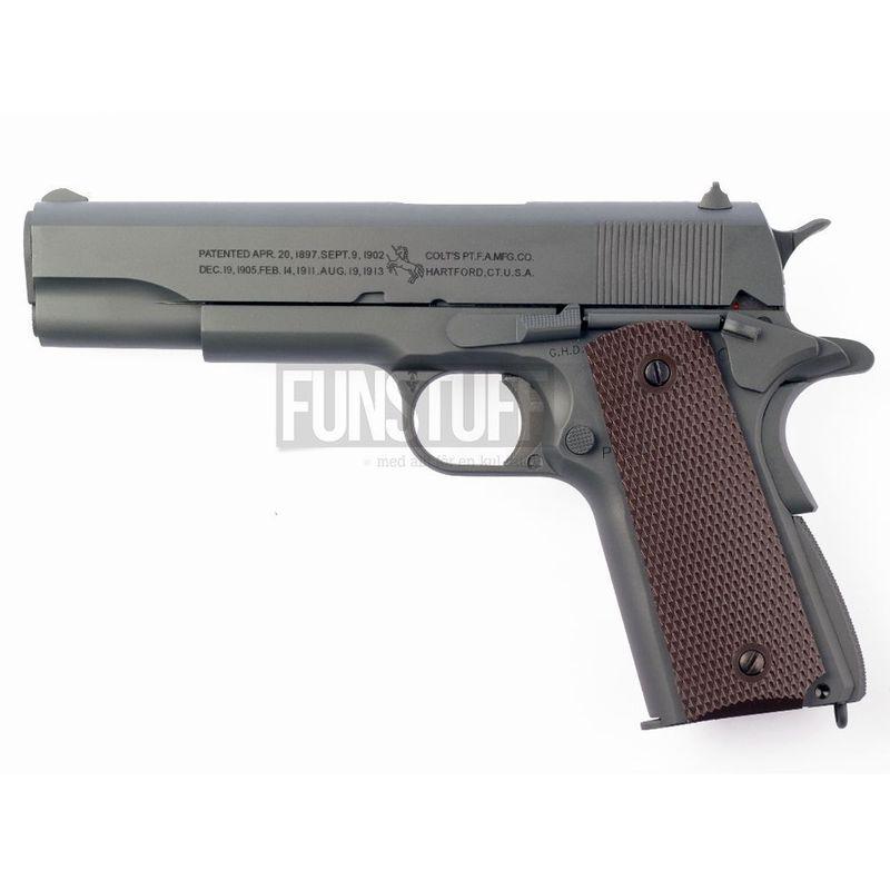 Colt M1911A1 Parkerized Grey, Blowback Co2 6mm