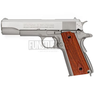Swiss Arms SA 1911 Seventies Stainless 4,5mm