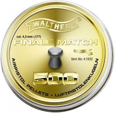 Walther Final Match 4,5mm, 500st för pistol