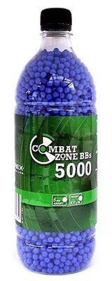 Combat Zone Amo 0,12g ca 5000st i flaska, blå