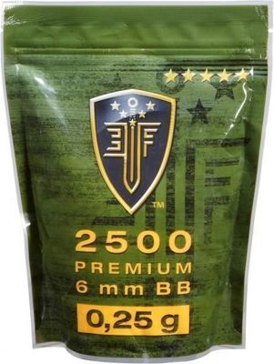 Elite Force 0,25g Premium ca 2500 st i påse