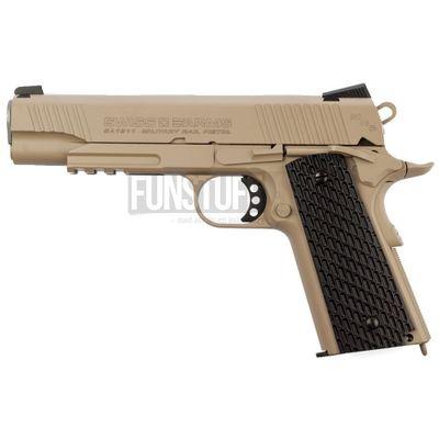 Swiss Arms SA 1911 Military Rail 4,5mm, Tan