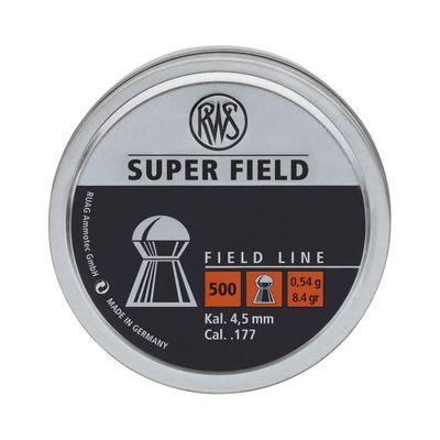RWS Super Field - 4,52mm / 0,54g / 500st