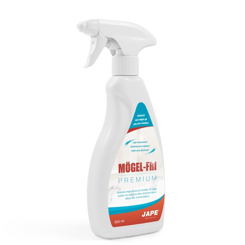 Ta bort mögel inomhus med Mögel-Fri - Effektivt och skonsamt