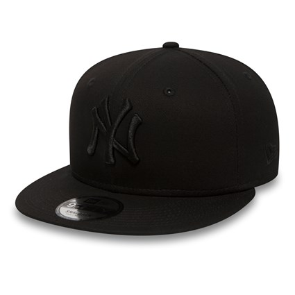 9fifty MLB New York Yankees Snapback Black/Black 11180834 New Era