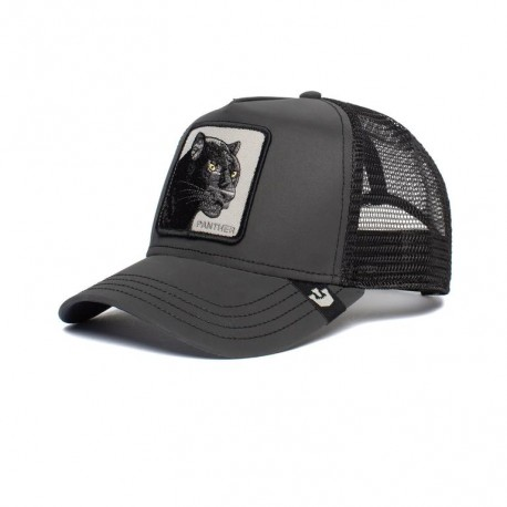 Panther Shine Bright Trucker Black 101-2682-BLK Goorin Bros