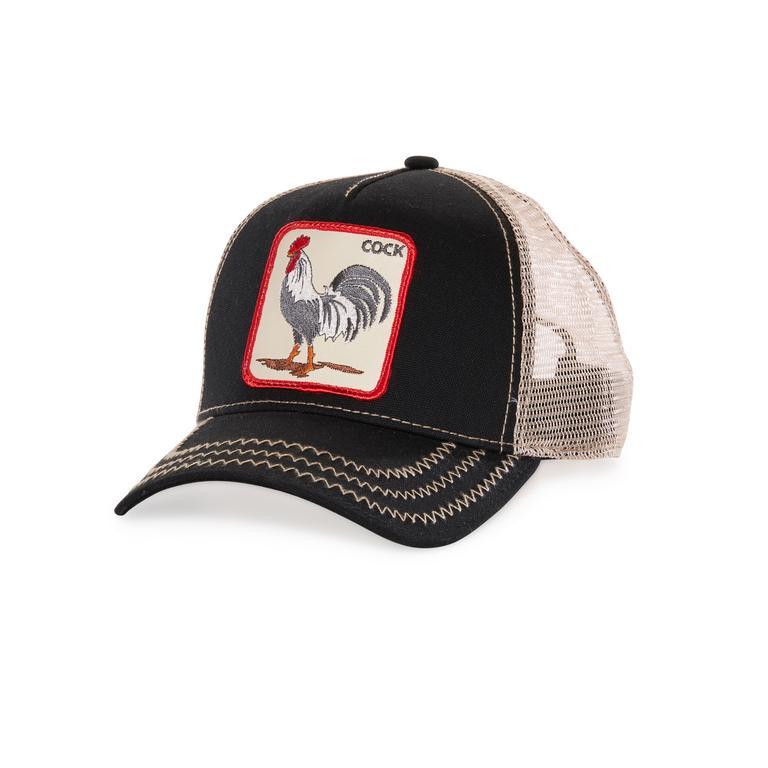 Rooster trucker Black 101-3548-BLK - Goorin Bros