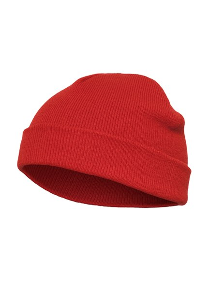Heavyweight beanie short red 1500KC Yupoong