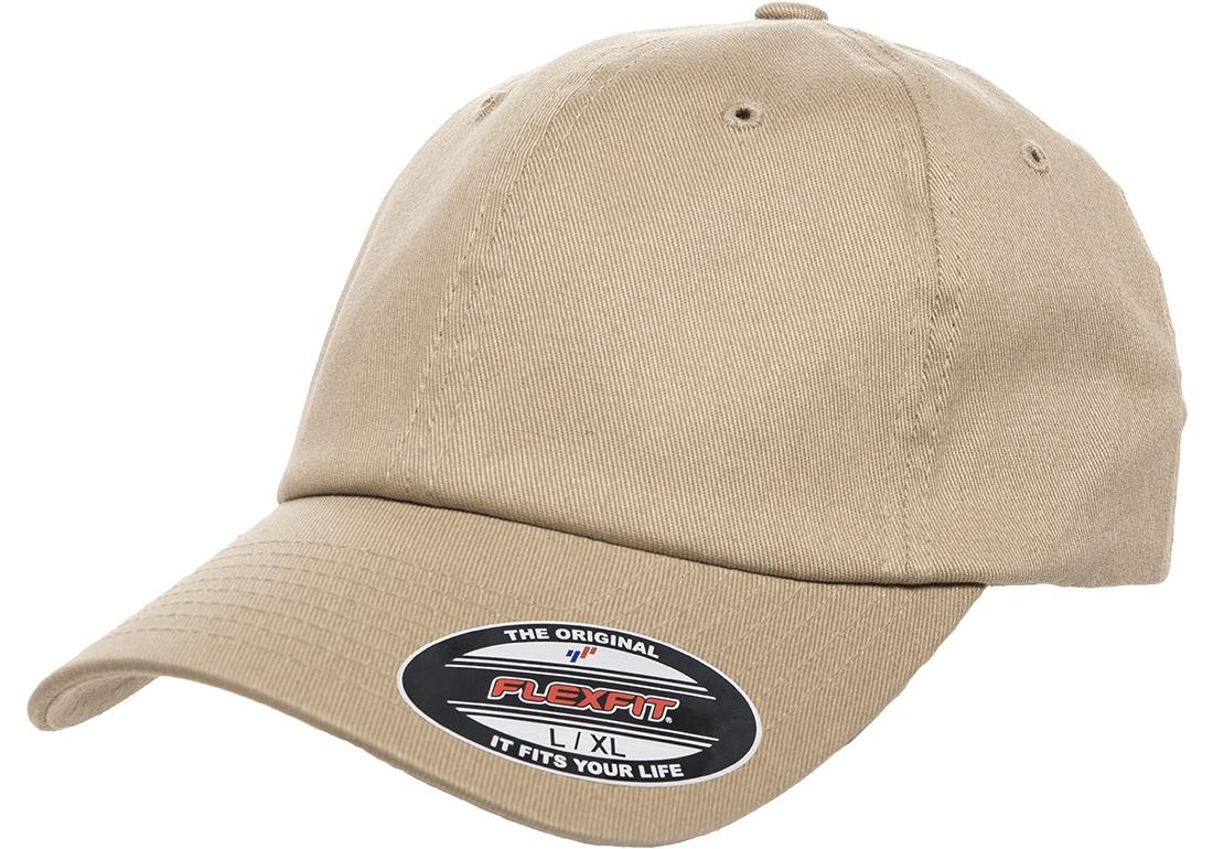 Dad Cap Flexfit keps 6745 Khaki