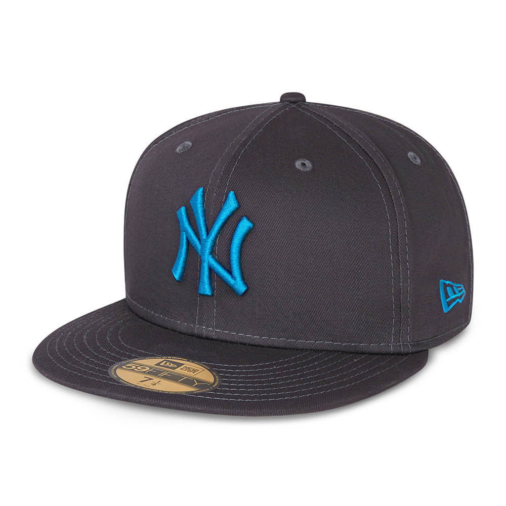 New York Yankees League Essential Grey 59fifty 60137546 New Era
