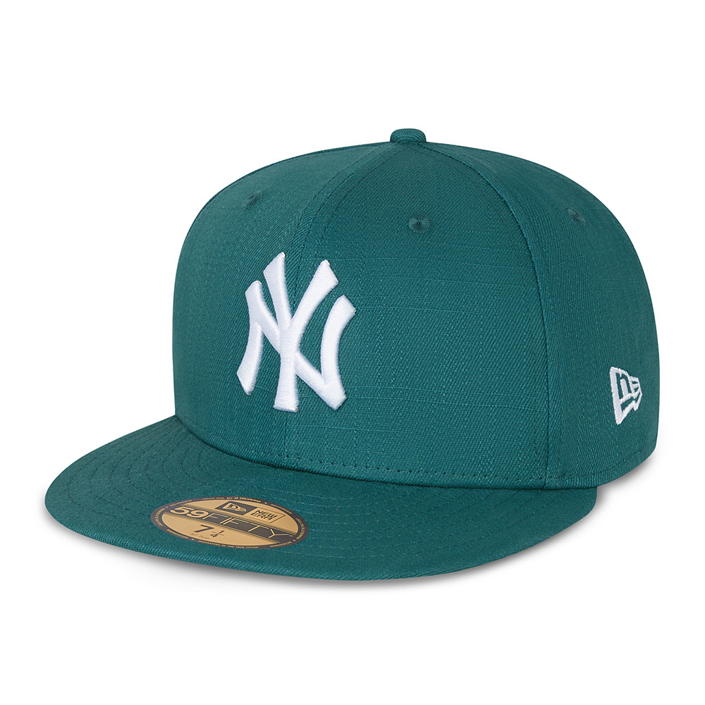 New York Yankees Cotton ripstop teal 59fifty 60137577 New Era