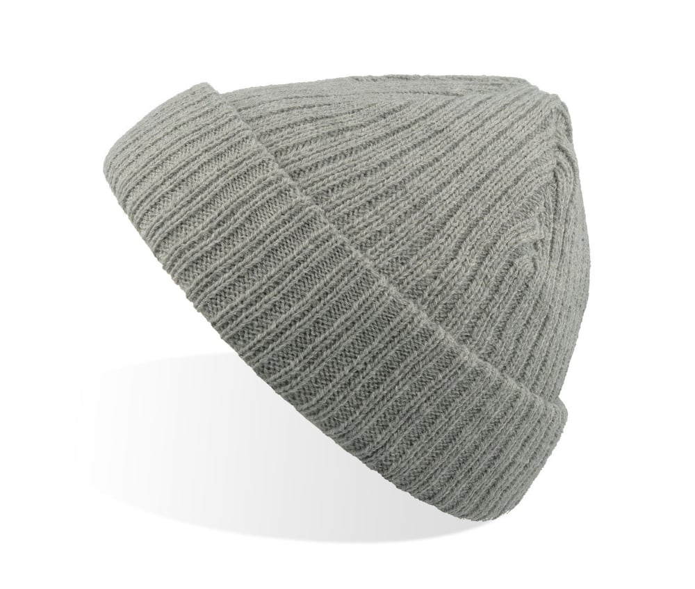 Docker Grey Melange fold up beanie mössa