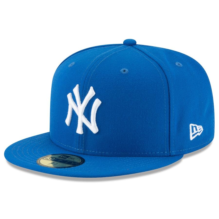Snapback kepsar New Era new york yankees blue