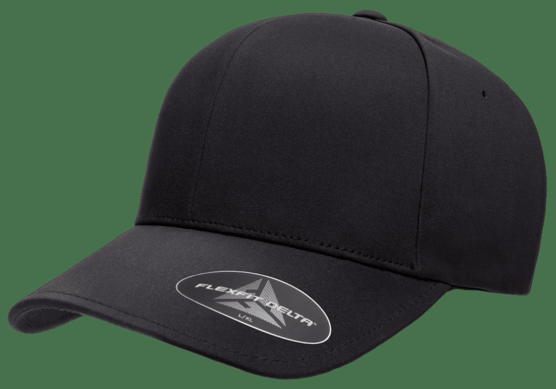 Golfkepsar flexfit delta svart