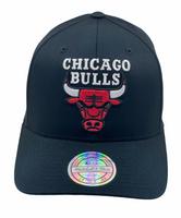 Chicago Bulls Black 110 - Mitchell & Ness - Fri frakt