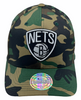 Brooklyn Nets Black/White Camo - Mitchell & Ness - Fri Frakt