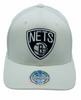 Brooklyn Nets Off-White 110 Snapback - Mitchell & Ness
