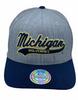 Michigan Wolverines heather grey/navy 110 - Mitchell & Ness