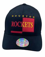 Houston Rockets Big Logo Black - Mitchell & Ness - Fri frakt