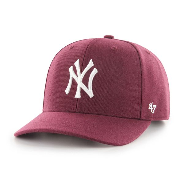 MVP Cold Zone New York Yankees Dark Maroon - Fri frakt