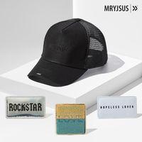 Love Rockstar Trucker Kit Black H007 - Next Generation Headwear