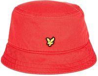 Cotton Twill Gala Red Bucket Hat från Lyle & Scott hos oss