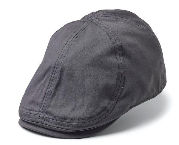 Desmond Duckbill Flatcap Grey SH1090 - Statewear