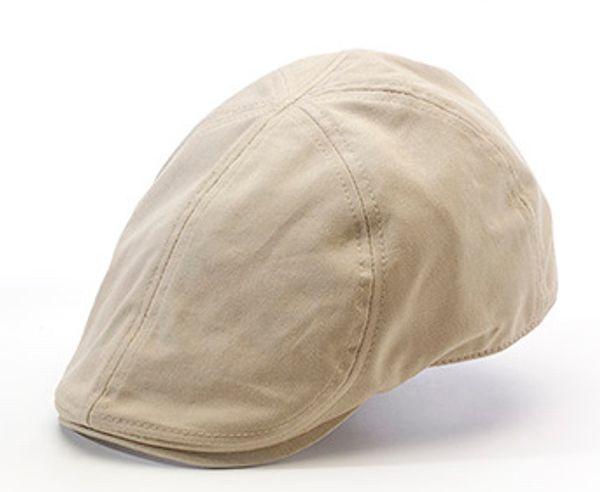 Desmond Duckbill Flatcap Kakhi SH1090 - Statewear