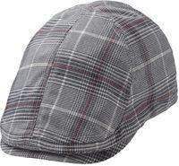 Merrit Duckbill Flatcap Black/Bordeaux ST1099 - Statewear